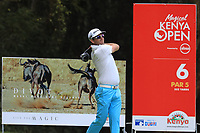 Josh Geary (NZL) during the third round of the Magical Kenya Open presented by ABSA, played at Karen Country Club, Nairobi, Kenya. 16/03/2019<br /> Picture: Golffile | Phil Inglis<br /> <br /> <br /> All photo usage must carry mandatory copyright credit (&copy; Golffile | Phil Inglis)