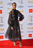 LOS ANGELES, CA. March 30, 2019: Letitia Wright at the 50th NAACP Image Awards.<br /> Picture: Paul Smith/Featureflash