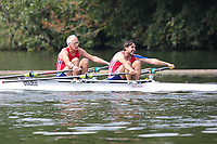 Race: 36  MasE.2x  Quarter-Final<br /> 111  Detroit BC, USA<br /> 112  Star Club<br /> <br /> Henley Masters Regatta 2018 - Friday<br /> <br /> To purchase this photo, or to see pricing information for Prints and Downloads, click the blue 'Add to Cart' button at the top-right of the page.