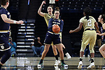 WINSTON-SALEM, NC - DECEMBER 31: Notre Dame's Kathryn Westbeld. The Wake Forest University Demon Deacons hosted the Notre Dame University Fighting Irish on December 31, 2017 at Lawrence Joel Veterans Memorial Coliseum in Winston-Salem, NC in a Division I women's college basketball game. Notre Dame won the game 96-73.
