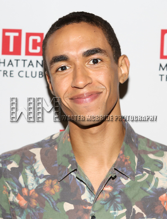 Kyle Beltran attending the Opening Night Celebration for the MTC American Premiere of 'Choir Boy' at Inside Park at St. Bart's on July 2, 2013 in New York City.