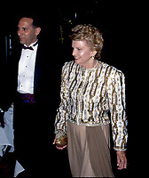 Houston, Texas, USA, October 19, 1991<br /> Former FIrst Lady Betty Ford arrives at a reception in Houston, Texas. Credit: Mark Reinstein/MediaPunch