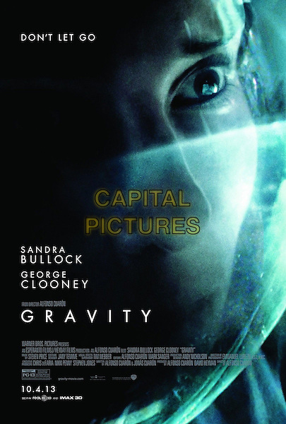 POSTER ART<br /> in Gravity (2013) <br /> *Filmstill - Editorial Use Only*<br /> CAP/FB<br /> Image supplied by Capital Pictures