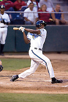 August 4, 2009: Everett AquaSox first baseman James Jones at-bat during a Northwest League game against the Boise Hawks at Everett Memorial Stadium in Everett, Washington.