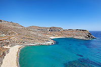 Kalydonychi and Psili Ammos are the most exotic beaches in Kea, Greece