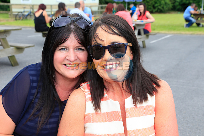 Ashling Seery and Veronica Smith at the Carranstown Lodge family day<br /> Picture:  www.newsfile.ie