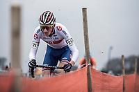 Ben Turner (GBR)<br /> <br /> Men's U23 race. <br /> <br /> UCI 2019 Cyclocross World Championships<br /> Bogense / Denmark<br /> <br /> &copy;kramon