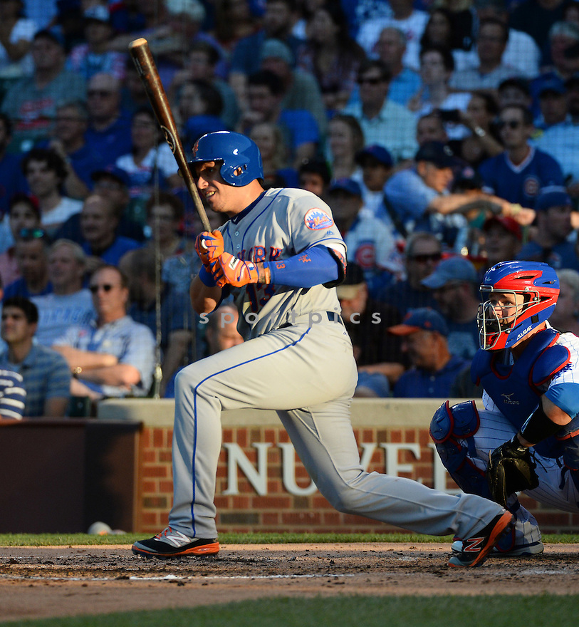 New York Mets Asdrubal Cabrera (13) during a game against the Chicago Cubs on July 18, 2016 at Wrigley Field in Chicago, IL. The Cubs beat the Mets 5-1.