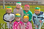 Taking time out for a photo at The Camogie Fun Day in Listowel Emmet's Club on Saturday were front .l-r. Rachel Costello and Mave Gallagher.  Back l-r. Abby McMahon, Bridget Sheehan, Grainne O'Donovan and Sophie Quirke McFarlane. .   Copyright Kerry's Eye 2008
