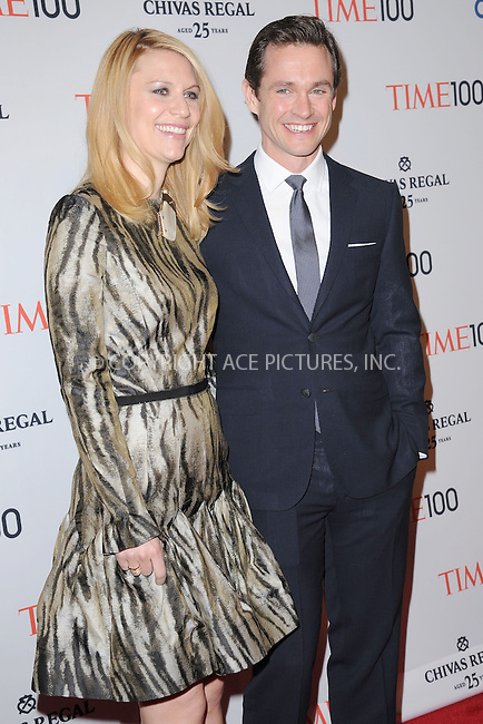 WWW.ACEPIXS.COM . . . . . .April 23, 2013...New York City....Claire Danes and Hugh Dancy attend TIME 100 Gala, TIME'S 100 Most Influential People In The World at Jazz at Lincoln Center on April 23, 2013 in New York City ....Please byline: KRISTIN CALLAHAN - ACEPIXS.COM.. . . . . . ..Ace Pictures, Inc: ..tel: (212) 243 8787 or (646) 769 0430..e-mail: info@acepixs.com..web: http://www.acepixs.com .