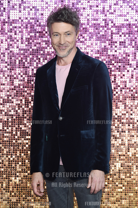 "LONDON, UK. October 23, 2018: Aiden Gillan at the world premiere of ""Bohemian Rhapsody"" at Wembley Arena, London.<br /> Picture: Steve Vas/Featureflash"