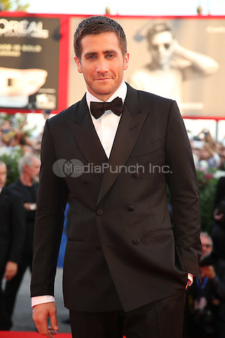 Jake Gyllenhaal attends the premiere of 'Nocturnal Animals' during the 73rd Venice Film Festival at on September 2, 2016 in Venice, Italy<br /> CAP/GOL<br /> &copy;GOL/Capital Pictures /MediaPunch ***NORTH AND SOUTH AMERICAS ONLY***