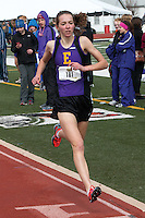 Eureka High School junior Hannah Long captured the 1600 and 800 meter titles at the Festus Early Bird track and field invitational, Saturday, March 29, in Festus, Mo. Long's 4:45.84 in the 1600 is the fastest time by a high school girl in the U.S. so far this season, and is believed to be the second best-ever for a Missouri high school girl, only behind Emily Sisson's 4:44 for a full mile in 2010.