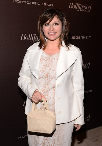 NEW YORK, NY - APRIL 16: Maria Bartiromo attends The Hollywood Reporter 35 Most Powerful People In Media Celebration at The Four Seasons Restaurant on April 16, 2014 in New York City RTNPluvious/MediaPunch