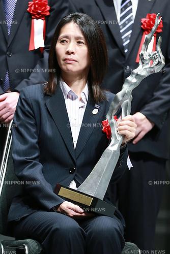 Akemi Noda,<br /> JUNE 12, 2015 - News : <br /> JOC Sports Awards ceremony <br /> at Tokyo International Forum, Tokyo, Japan. <br /> (Photo by Shingo Ito/AFLO SPORT)