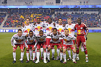 New York Red Bulls starting XI. The New York Red Bulls defeated FC Dallas 2-1 during a Major League Soccer (MLS) match at Red Bull Arena in Harrison, NJ, on April 17, 2010.