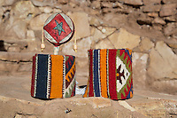 Souvenirs for sale inside Ait Ben Haddou