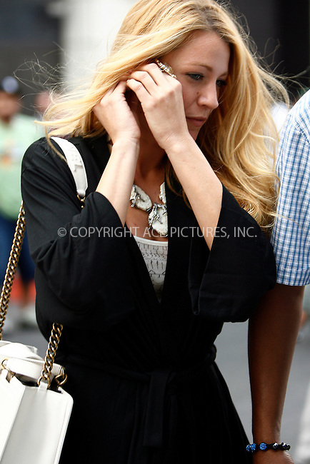WWW.ACEPIXS.COM . . . . .  ....September 1 2011, New York City....Actress Blake Lively on the Central Park set of the TV show 'Gossip Girl' on September 1, 2011 in New York City......Please byline: CURTIS MEANS - ACE PICTURES.... *** ***..Ace Pictures, Inc:  ..Philip Vaughan (212) 243-8787 or (646) 679 0430..e-mail: info@acepixs.com..web: http://www.acepixs.com