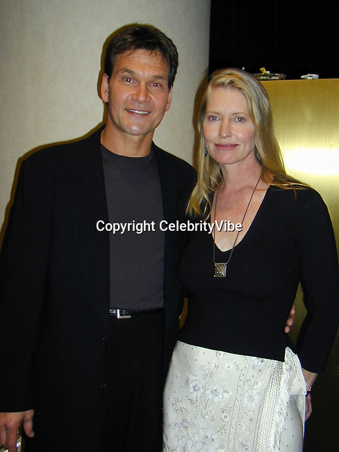 Patrick Swayze &amp; Wife Lisa                           Whitney Houston's All-Star Gala for<br />American Cinema Foundation<br />Saturday, Dec 04, 1999<br />Photo by CelebrityVibe