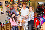 Bernice Dowling-Hoffman, Sarah Jane Hoffman, McKenzie Keane Kayrena Dowling celebrate the 60th Anniversary of John Dowlings Shoe's