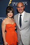 Sarah Stiles and guest during the 2019 Drama Desk Awards at Steinway Hall on June 2, 2019  in New York City.