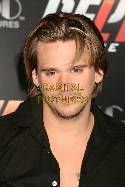 "SEAN STEWART.""Redline"" Los Angeles Premiere at Grauman's Chinese Theatre, Hollywood, California, USA, 12 April 2007..portrait headshot.CAP/ADM/BP.©Byron Purvis/AdMedia/Capital Pictures."
