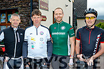 Saddle up<br /> --------------<br /> Taking part in the Gold Coast charity cycle in aid of the Jack&amp;Jill Foundation, last Saturday morning starting in the tiny picturesque village of Cloghane were L-R Donie O'Sullivan, Seamus Grady, Tomo Duske with Patrick Traynor.