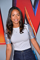 LOS ANGELES, CA. March 28, 2019: Christina Milian at the world premiere of Shazam! at the TCL Chinese Theatre.<br /> Picture: Paul Smith/Featureflash