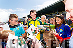 Jack Barry with fans at the Kerry GAA Open Day Meet and Greet, at Fitzgerald Stadium, Killarney on Saturday last.
