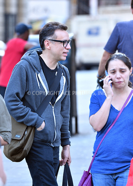 www.acepixs.com<br /> <br /> October 19 2016, New York City<br /> <br /> Actor Fred Armisen was out in Soho on October 19 2016 in New York City<br /> <br /> By Line: Curtis Means/ACE Pictures<br /> <br /> <br /> ACE Pictures Inc<br /> Tel: 6467670430<br /> Email: info@acepixs.com<br /> www.acepixs.com