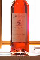 Rose Vin d'Une Nuit. Mas Montel, Sommieres, Languedoc, France