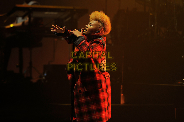 LONDON, ENGLAND - MARCH 21: Emeli Sand&eacute; performing at Brixton Academy on March 21, 2017 in London, England.<br /> CAP/MAR<br /> &copy;MAR/Capital Pictures