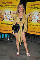 "Amber Davies at the ""9 To 5 The Musical"" theatre new cast change stage door departures, Savoy Theatre, The Strand, London, England, UK, on Thursday 04th July 2019.<br /> CAP/CAN<br /> ©CAN/Capital Pictures"