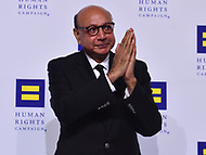Washington, DC - October 28, 2017: Khizr Khan poses on the carpet at the Human Rights Campaign's National Dinner held at the Washington Convention Center October 28, 2017.  (Photo by Don Baxter/Media Images International)
