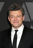 HOLLYWOOD, CA - NOVEMBER 11: Andy Serkis at the AMPAS 9th Annual Governors Awards at the Dolby Ballroom in Hollywood, California on November 11, 2017. Credit: David Edwards/MediaPunch /NortePhoto.com
