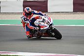 16th March 2018, Losail International Circuit, Lusail, Qatar; Qatar Motorcycle Grand Prix, Friday free practice;Danilo Petrucci (Pramac)