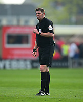 Referee Brett Huxtable<br /> <br /> Photographer Andrew Vaughan/CameraSport<br /> <br /> The EFL Sky Bet League Two - Lincoln City v Macclesfield Town - Saturday 30th March 2019 - Sincil Bank - Lincoln<br /> <br /> World Copyright © 2019 CameraSport. All rights reserved. 43 Linden Ave. Countesthorpe. Leicester. England. LE8 5PG - Tel: +44 (0) 116 277 4147 - admin@camerasport.com - www.camerasport.com