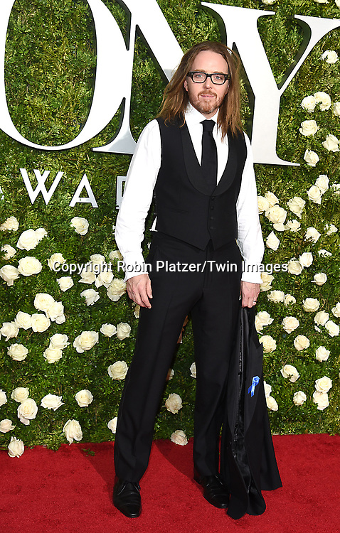 Tim Minchin attends the 71st Annual  Tony Awards on June 11, 2017 at Radio City Music Hall in New York, New York, USA.<br /> <br /> photo by Robin Platzer/Twin Images<br />  <br /> phone number 212-935-0770