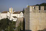 St Mary of the Castle Church and Castle Wall, Tavira, Algarve, Portugal