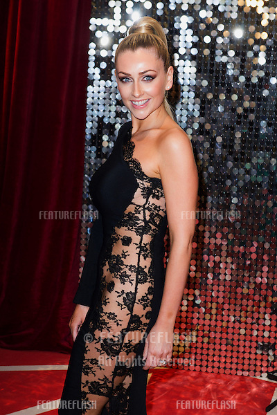 Gemma Merna arriving for the 2013 British Soap Awards, Media City, Manchester. 18/05/2013 Picture by: Simon Burchell / Featureflash