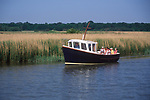 AT5BPD Boat trip River Alde Snape Suffolk England