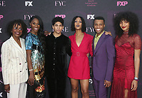 """WEST HOLLYWOOD, CA - AUGUST 9: Indya Moore, Dyllón Burnside, Mj Rodriguez, Angel Bismark Curiel, Angelica Ross, Charlayne Woodard, at Red Carpet Event For FX's """"Pose"""" at Pacific Design Center in West Hollywood, California on August 9, 2019. <br /> CAP/MPIFS<br /> ©MPIFS/Capital Pictures"""