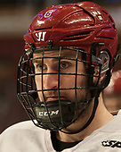 Colton Kerfoot (Harvard - 6) - The Harvard University Crimson practiced at the United Center on Wednesday, April 5, 2017, in Chicago, Illinois.