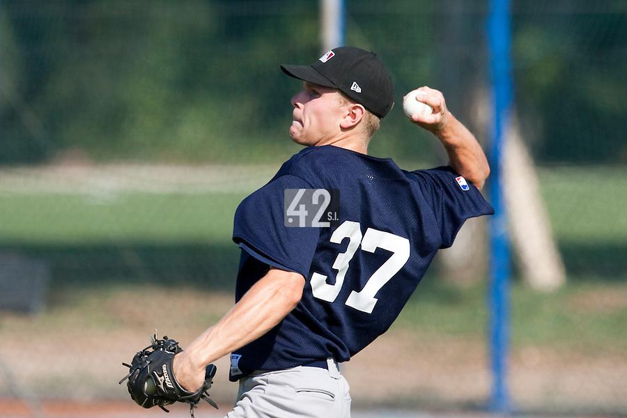 Baseball - MLB Academy - Tirrenia (Italy) - 19/08/2009 - Julius Uelschen (Germany)