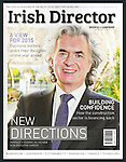 "Terence O'Rourke for the front cover of ""Irish Director"" magazine winter edition 2014/15. After 38 years at KPMG, Terence has taken a range of non-excutive roles, including chair of Enterprise Ireland"