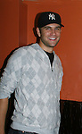 """One Life To LIve's John Brotherton """"Jared Banks""""  came to see the screening of independent film The Day The Bread Turned Green on November 11, 2008 at Blondies, New York City, NY. (Photo by Sue Coflin/Max Photos)"""