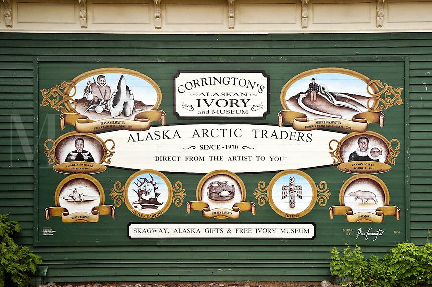 Arts and crafts culture, Skagway, AK, Alaska