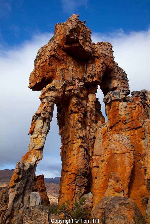 Lots Wife    Cederberg Wilderness,  South Africa   UNESCO World Heritage Site   Large natural arch with six opening   Northern Cape Area