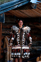 USA, Alaska, im Chena Indian Village bei Fairbanks