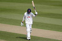 Dan Lawrence  of Essex leaves the field having been caught out on 93 during Surrey CCC vs Essex CCC, Specsavers County Championship Division 1 Cricket at the Kia Oval on 13th April 2019